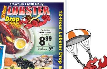 Red Apple Market Lobster Drop Promo